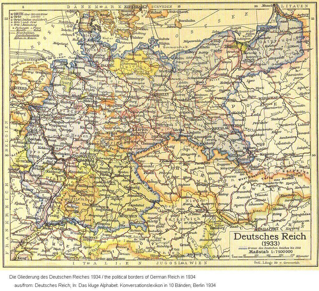Drittes reich 1934 karte third reich in 1934 map german maps drittes reich 1934 karte third reich in 1934 map altavistaventures Images