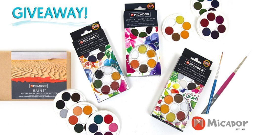 Micador For Artists Watercolour Art Supplies Giveaway In 2020