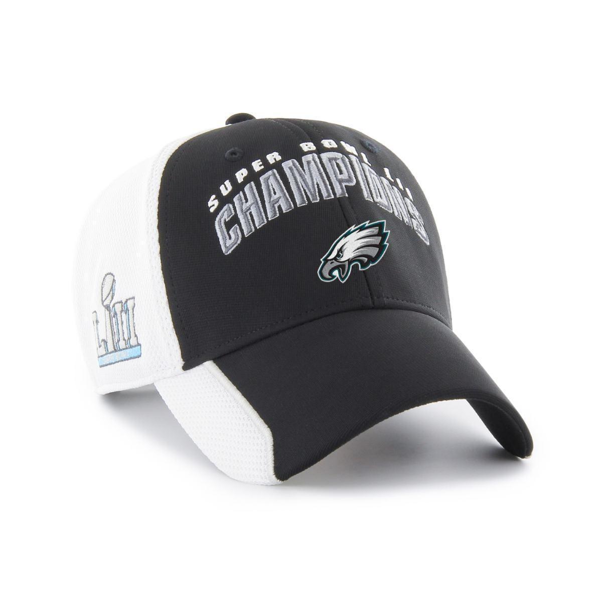 Philadelphia Eagles 2018 Super Bowl Lii Champions 47 Brand Mvp Mesh Adj.  Hat Cap 4fa5eeb48ef08