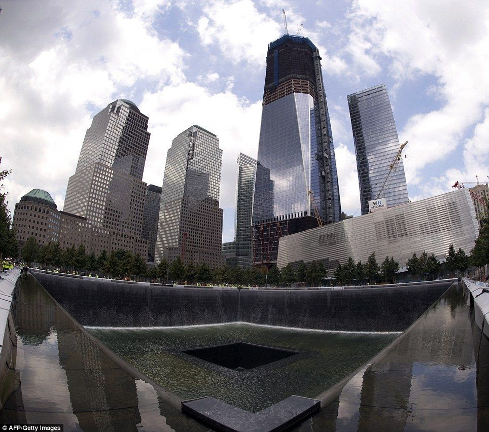 Ten years on: The 9/11 Memorial at Ground Zero revealed in pictures for the first time #groundzeronyc