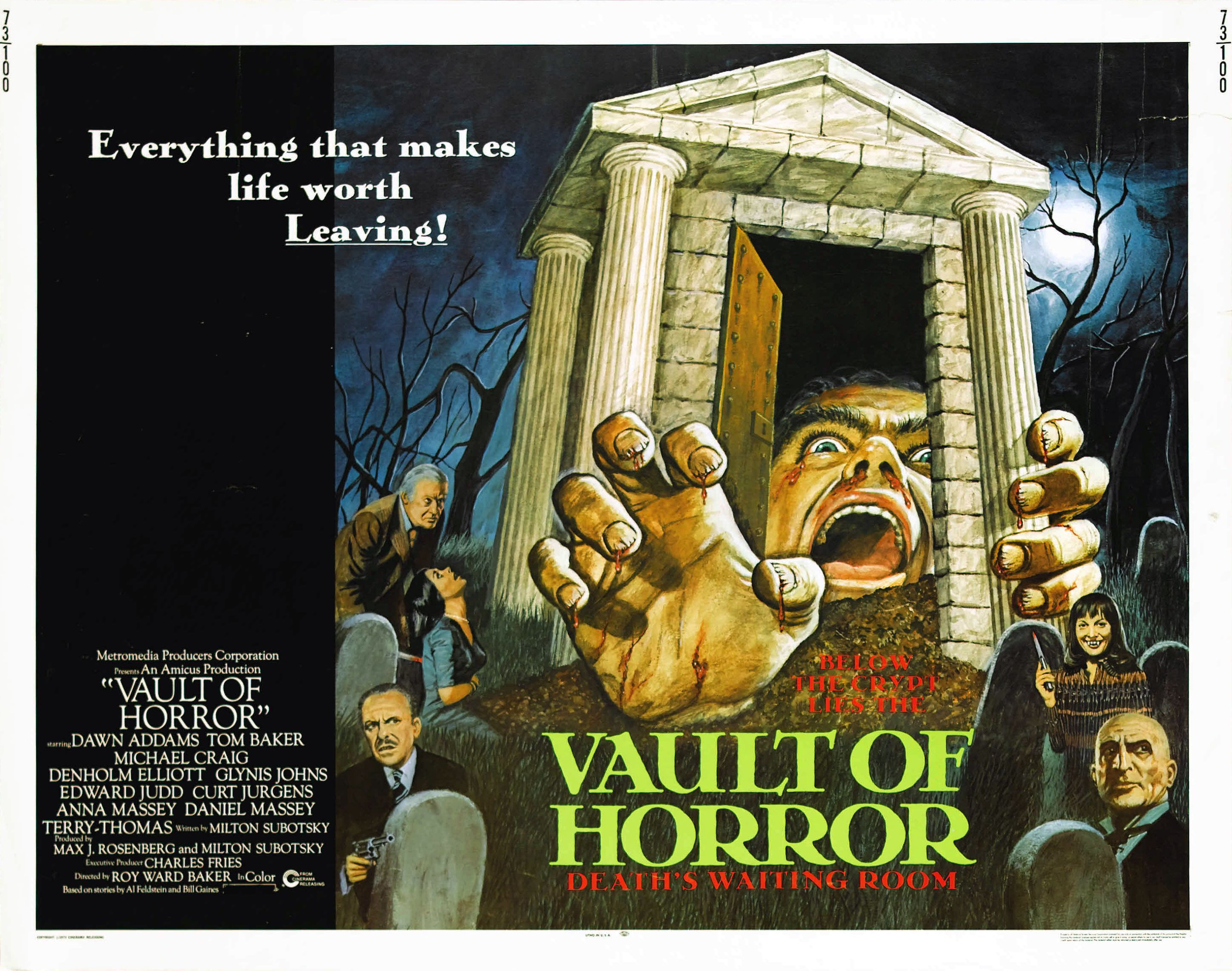 Classic british 70s horror horror movie posters horror