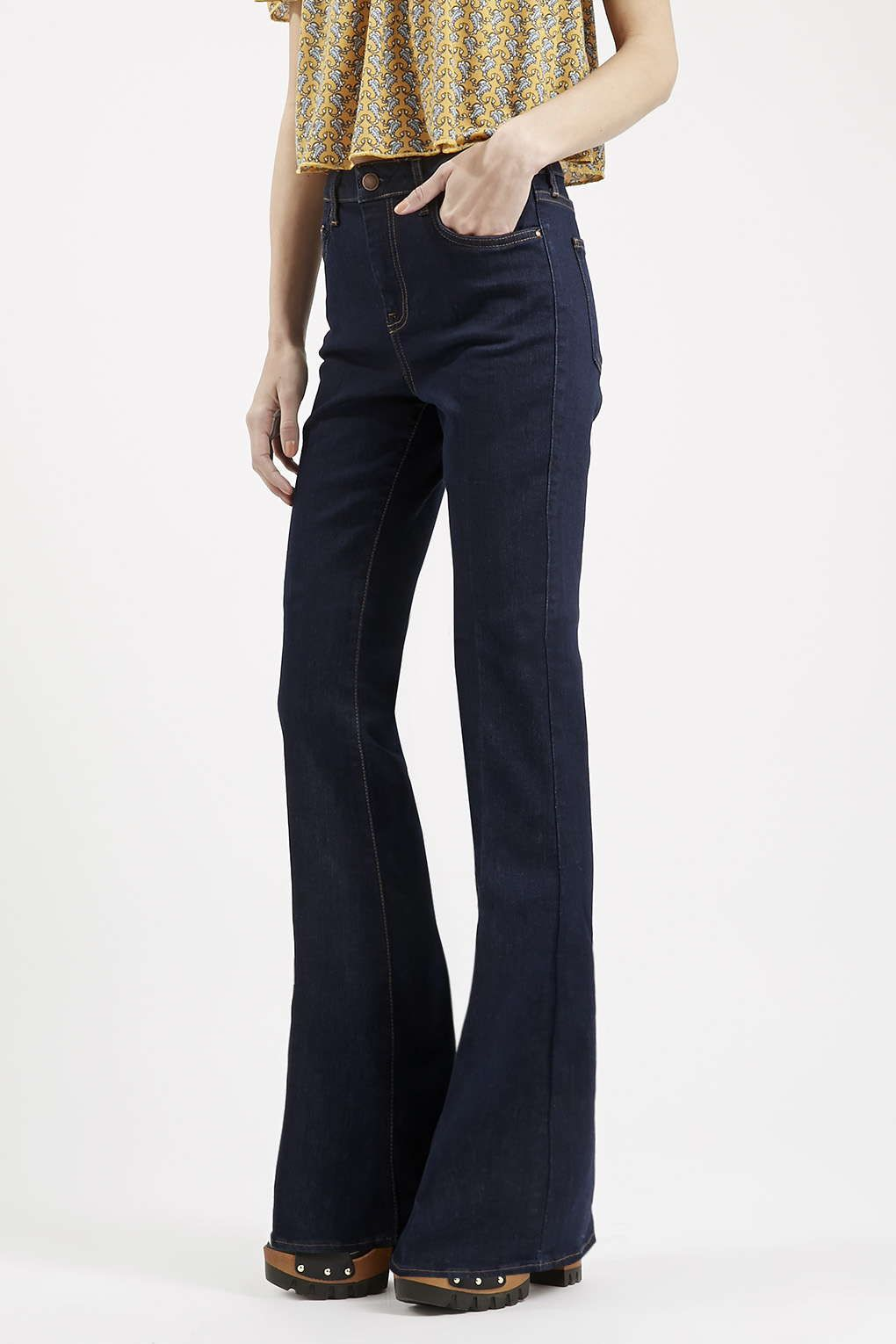 MOTO Clean-Cut Flared Jeans - Flared Jeans - Jeans - Clothing ...