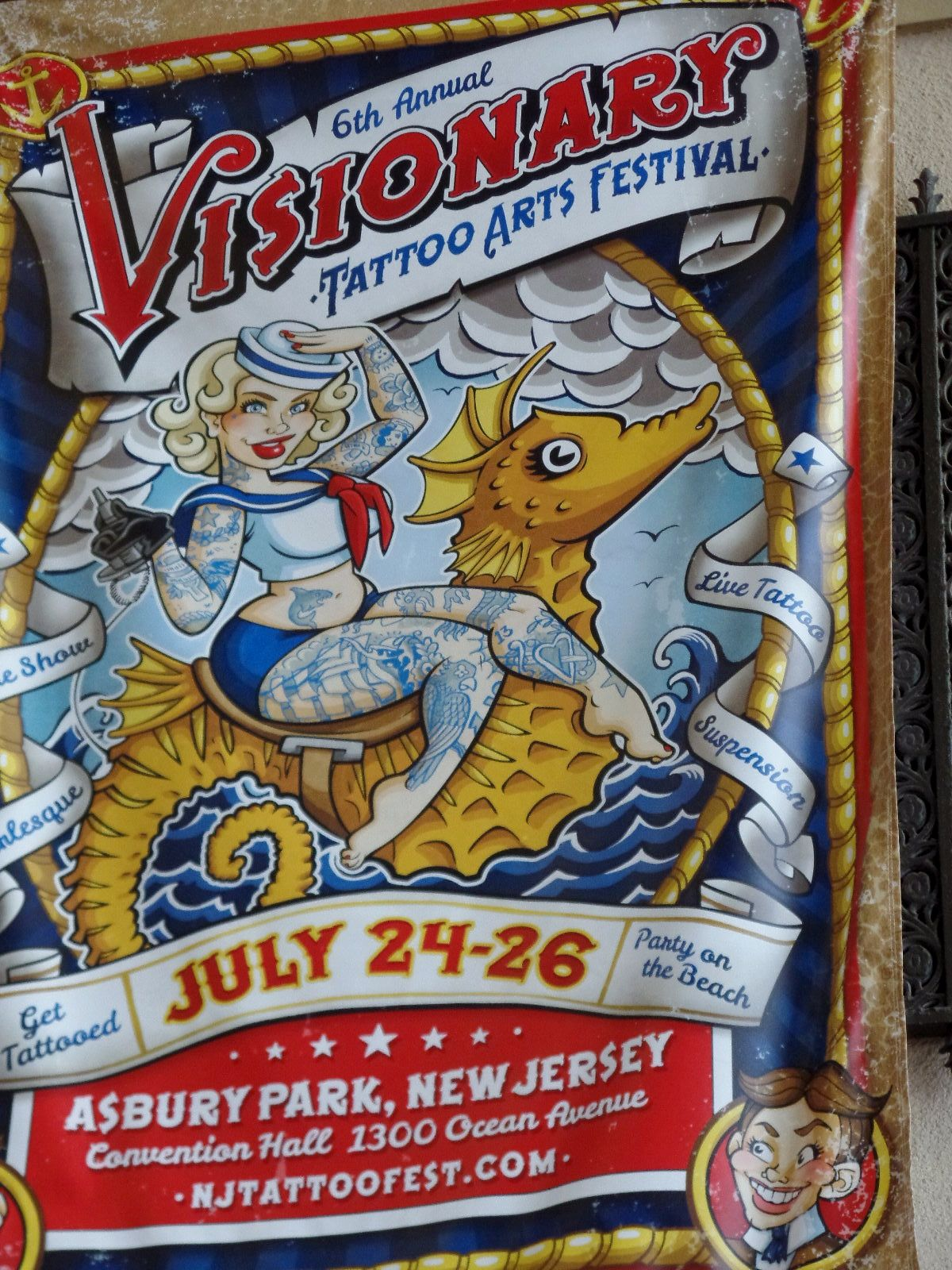 Tattoos Jersey Shore Summer Greetings From Asbury Park