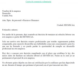 Carta Renuncia Voluntaria Modelo Minions Feliz Carta De