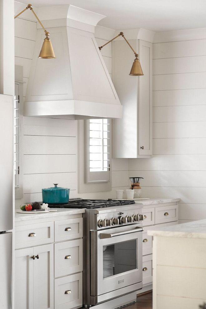 Shiplap Kitchen White Kitchen With Shiplap Backsplash And Shiplap