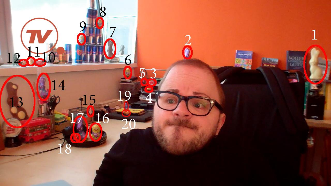 Die Auflösung zum #mabacherHasenbande Gewinnspiel aus meinem Vlog #2  Und gewonnen hat: @Alex Jones Nowak  Gratulation!!