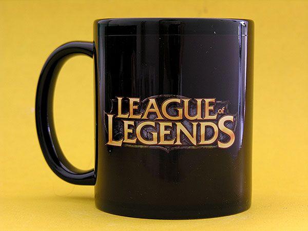 Caneca League Of Legends Lol Eu Compraria League Of Legends