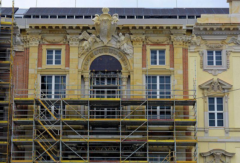 Berlin Schloss Portal V, im Juni 2017
