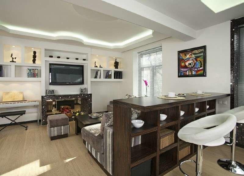Дизайн кухни с барной стойкой (220+ Фото) – Возможность ...