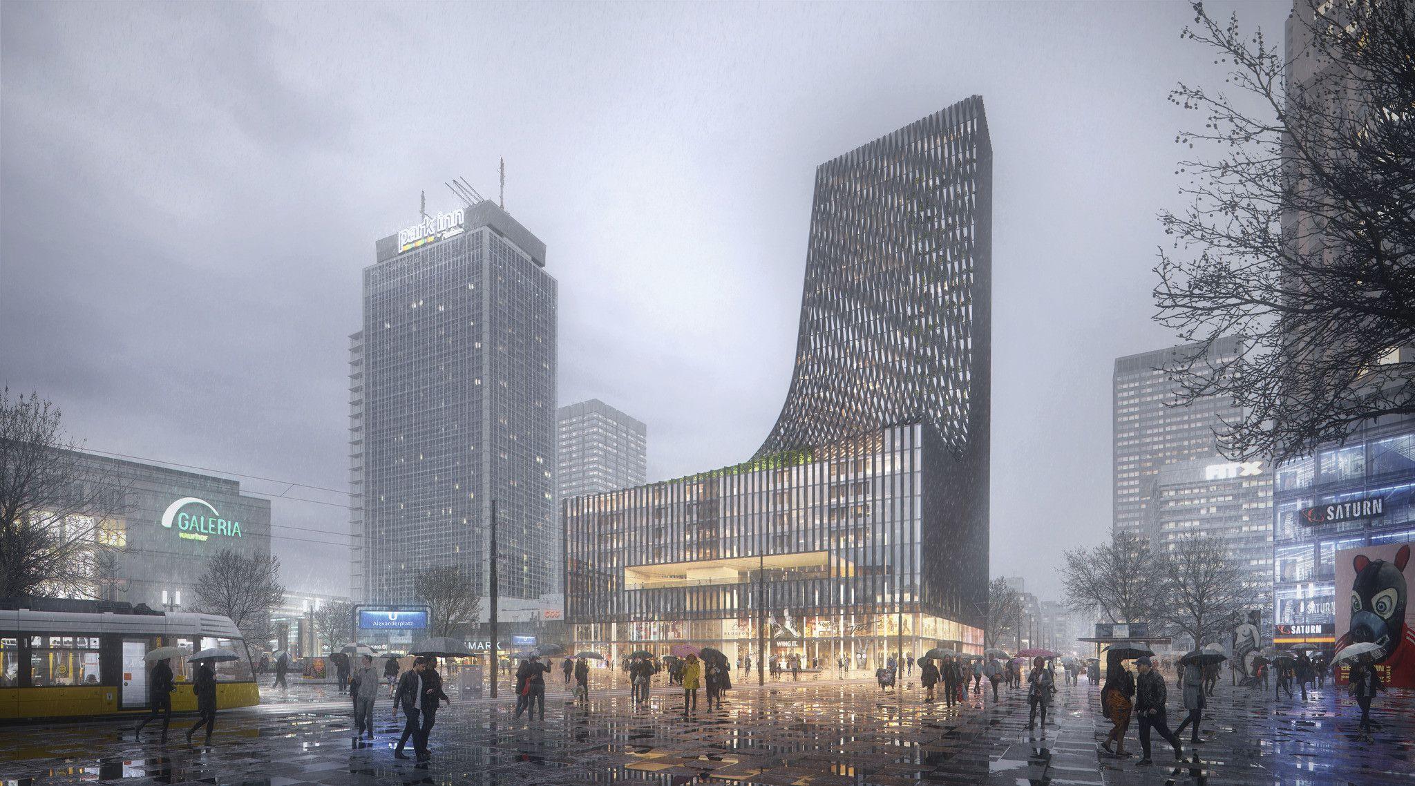 Snohetta Plompmozes Concept Architecture High Rise Building Architecture