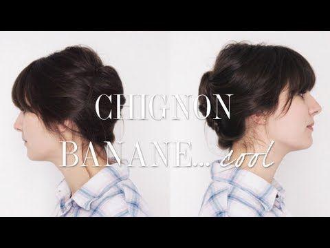 Tuto : le Chignon Banane pour les cheveux courts