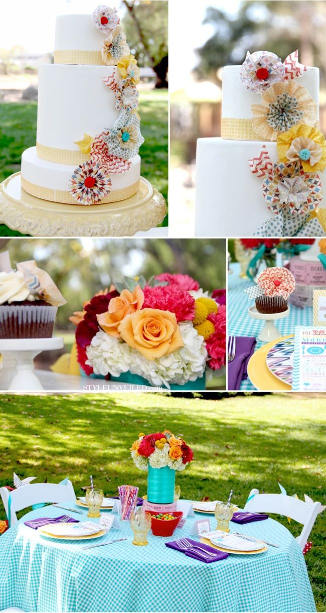 Carnival Wedding Ideas Love That Cake