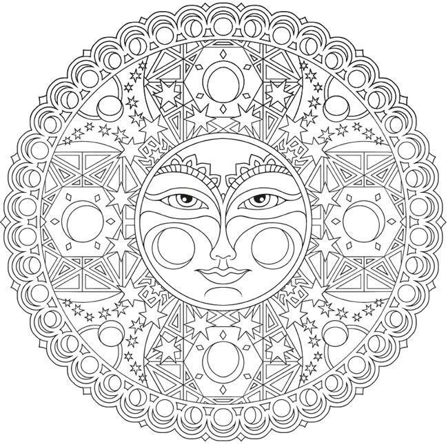 Pin de Josh V en Coloring pages: Mandala | Pinterest | Mandalas ...