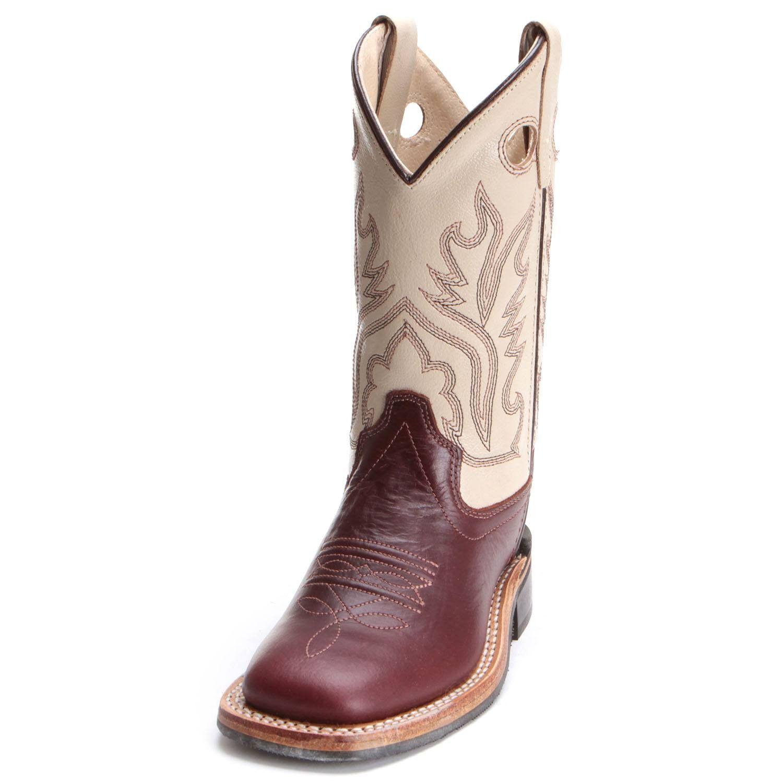 7e5acdc3af8 Old West Children Boys Western Cowboy Boots Tan | Kids Cowboy Boots ...