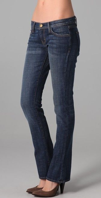 Current/Elliott Missy Elliot  The Baby Boot Jeans $198