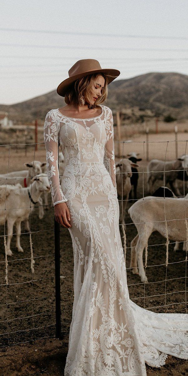 30 Rustic Wedding Dresses For Inspiration ❤  rustic wedding dresses sheath wit… – Office