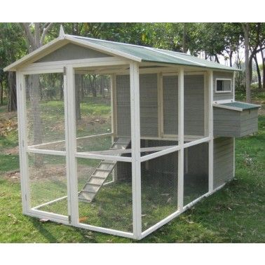 Coops Feathers Extreme Walk In Chicken Coop 74 Height 220 10