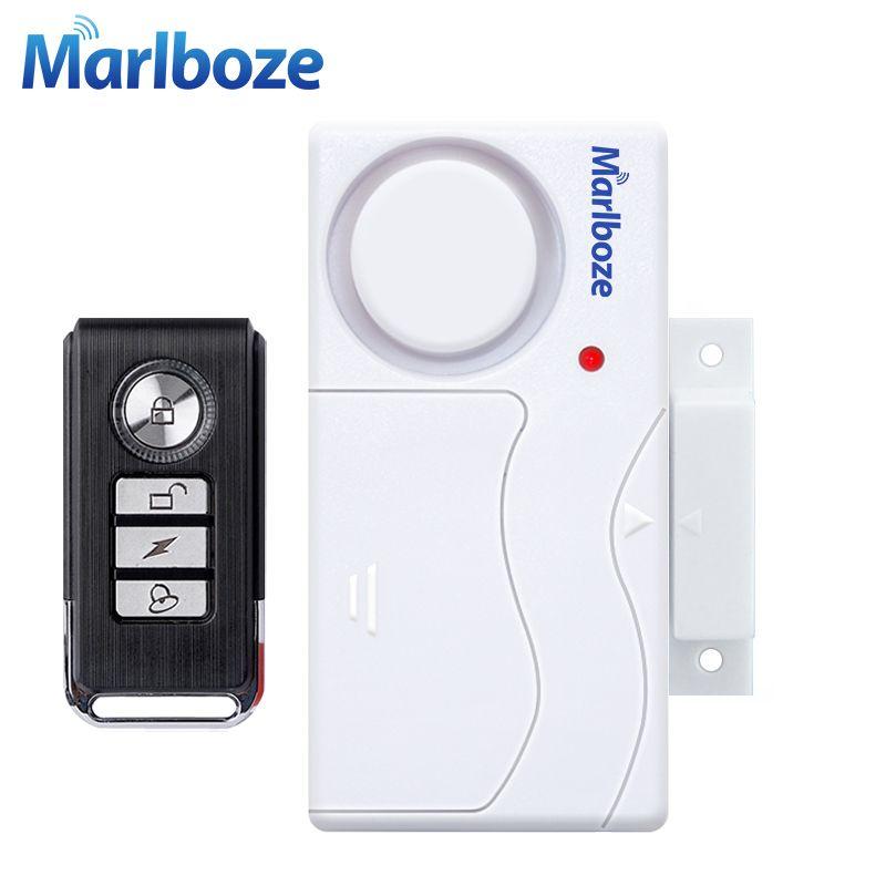 Porte Fenêtre Entrée Sécurité ABS Sans Fil Télécommande Porte - alarme porte d entree