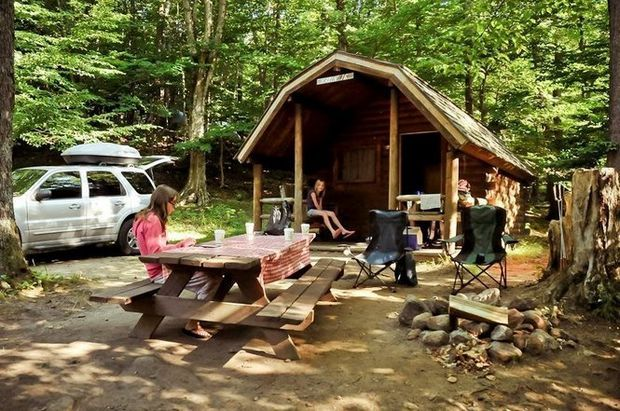 Best Places To Go Camping In Old Forge State Park Cabins Cabin Country Cabin