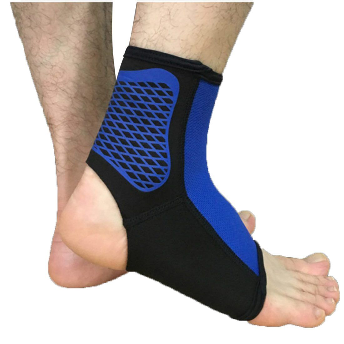 1pcs sports ankle support ankle pads elastic brace guard