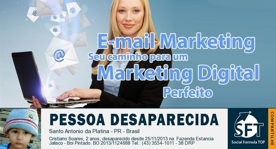 Trabalhe em Casa com Social Formula Top | E-mail marketing: o segredo do marketing digital