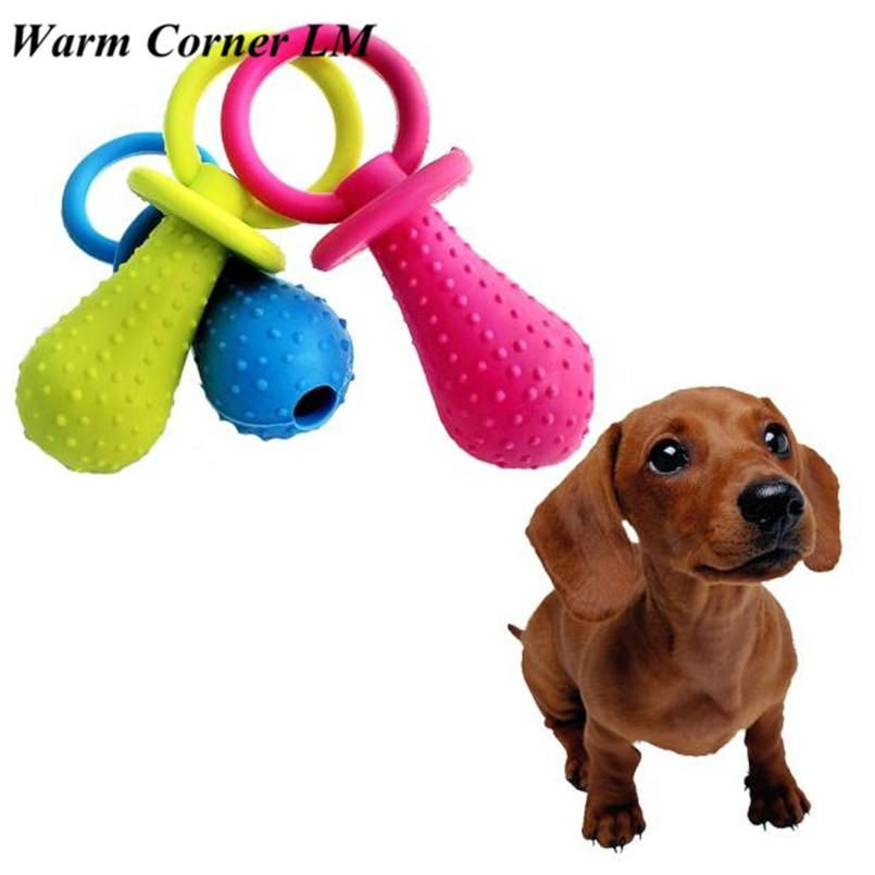 1pc Pet Toys Dog Puppy Rubber Dental Teeth Chew Bone Play Training