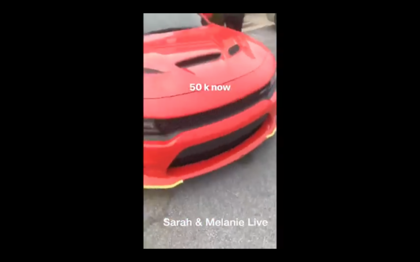 Video Migos Rapper Offsetyrn Buys Srt Demon Wants 50k For