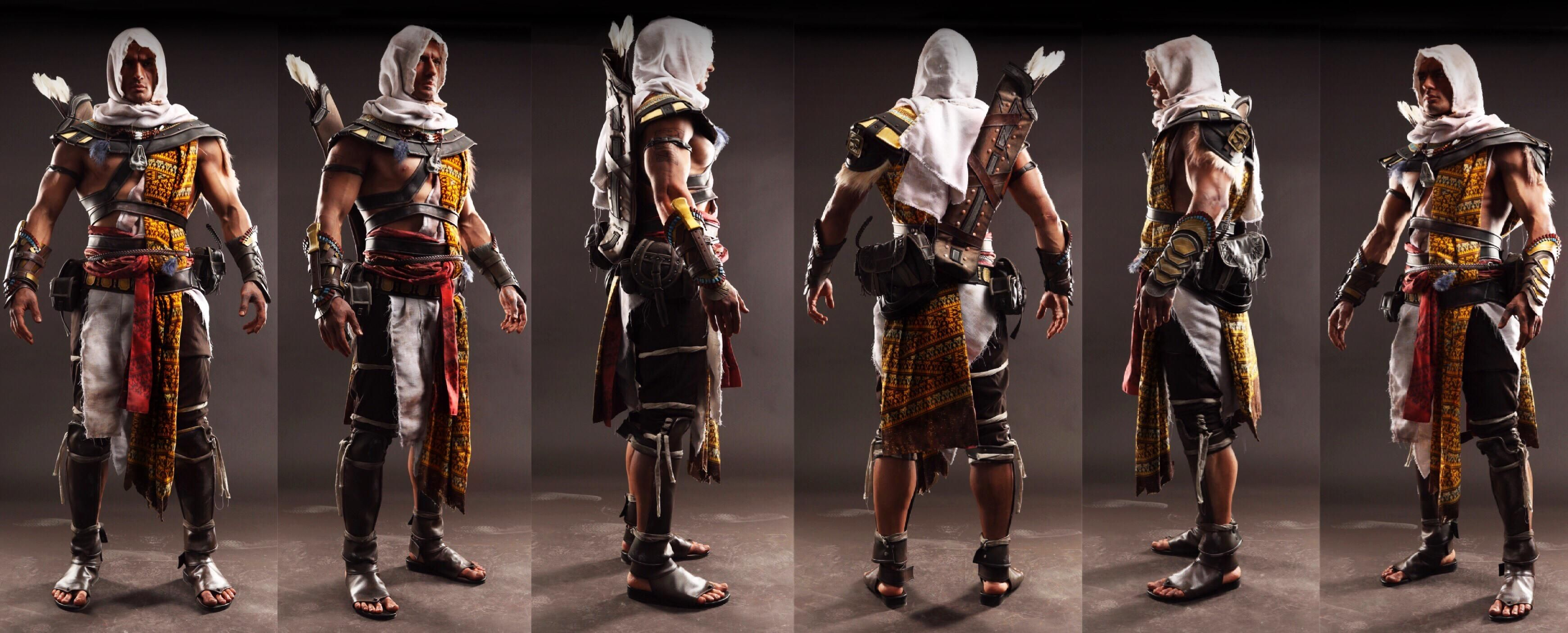 Bayek Assassins Creed Origins Cosplay By Leon Chiro With Images
