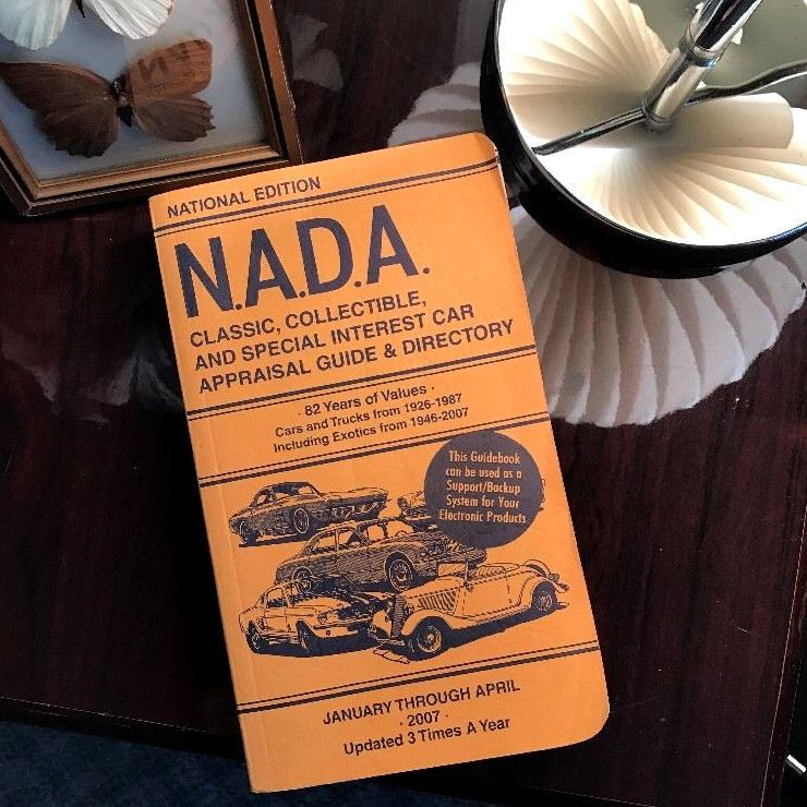 NADA Classic Collectible Exotic & Muscle Car Price Guide 2007 ...