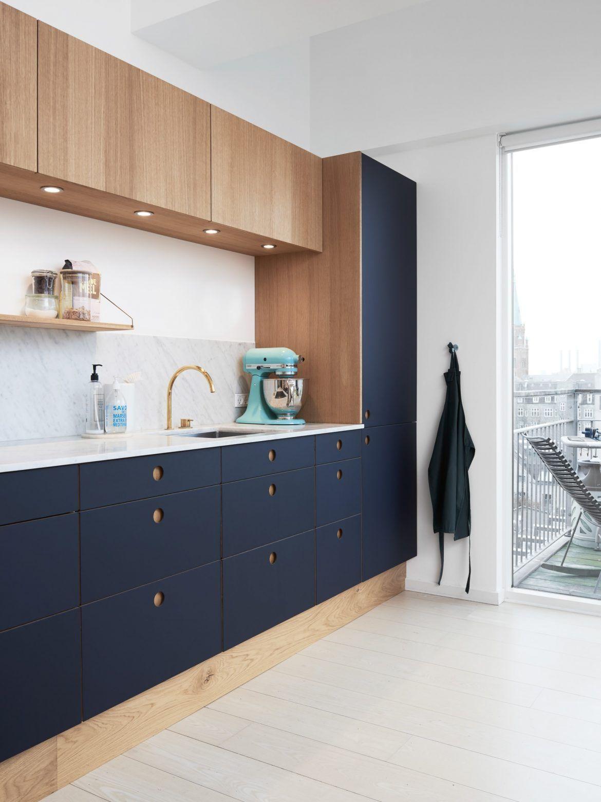 Merveilleux Reform Ou Comment Relooker Une Cuisine Ikea   Cuisine Basis Couleur Bleu  Navy #Kitchen
