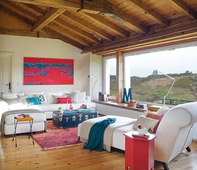 Una casa rural que rompe con el estilo rústico tradicional | Frentes ...