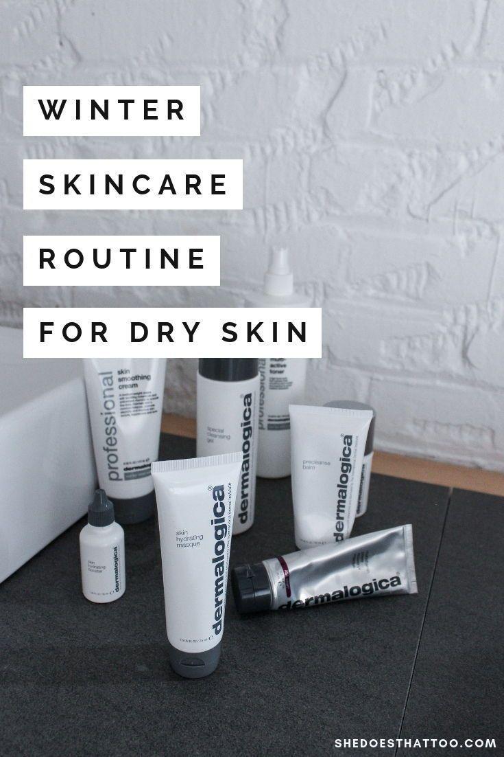 Winter-Hautpflege-Routine: Dry Skin Edition - -