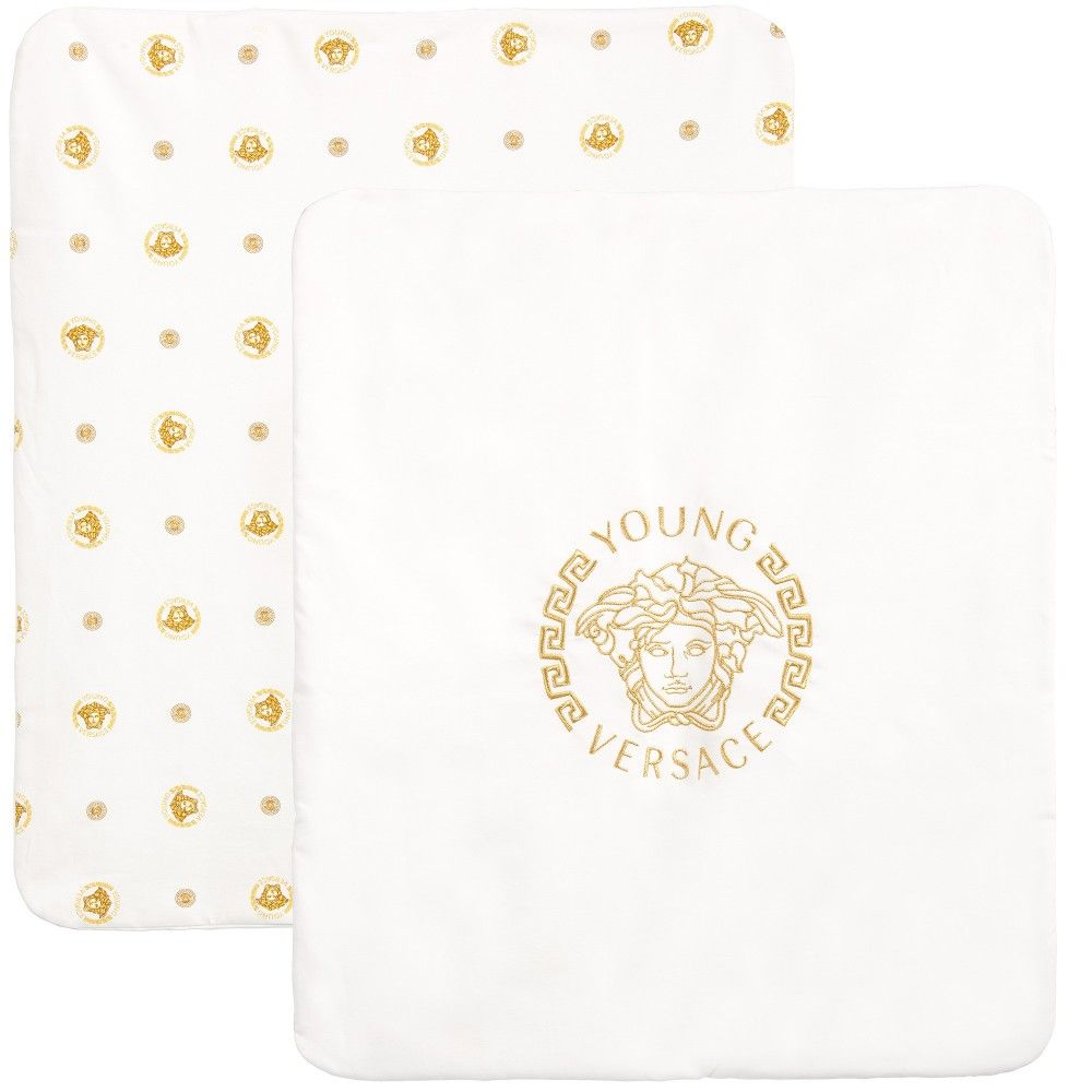 dd905dea6e Young Versace - Gold Medusa Baby Blanket (75cm)     Baby things ...
