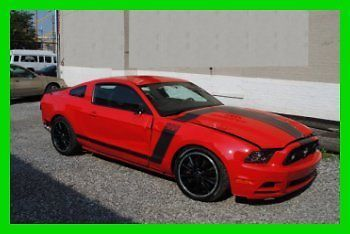 boss 302 wrecked | Repairable Rebuildable Salvage Wrecked