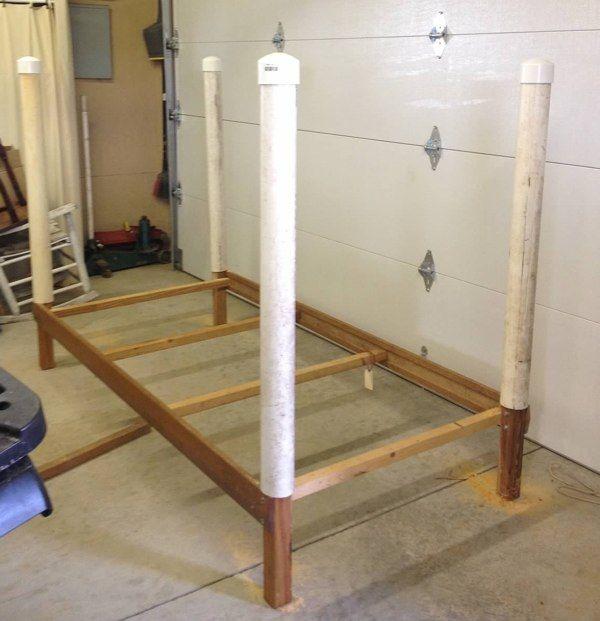 DIY Wrestling Bed * step by step instructions* Under $100 ...