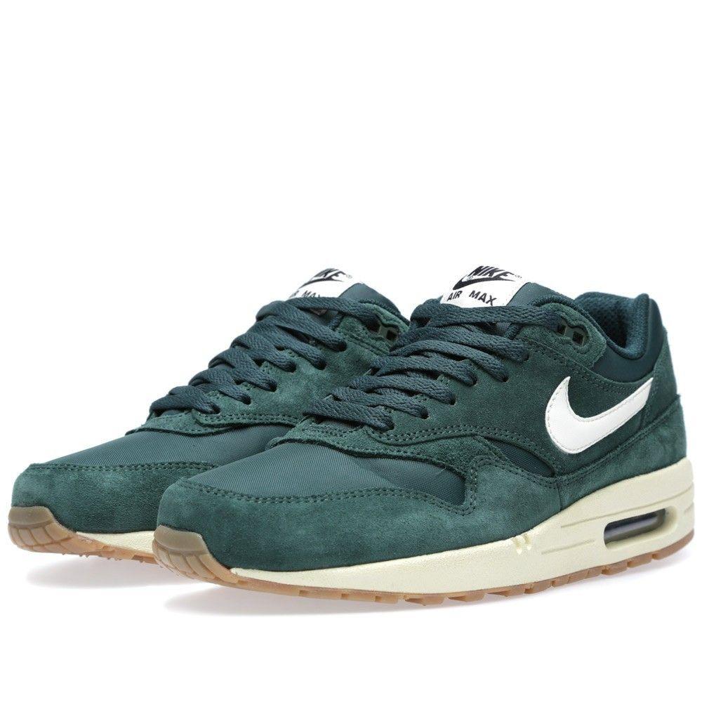 save off 329fc 0f31f Nike Air Max 1 Essential Pro GreenSail-Black-Black Sneaker - Heren ...