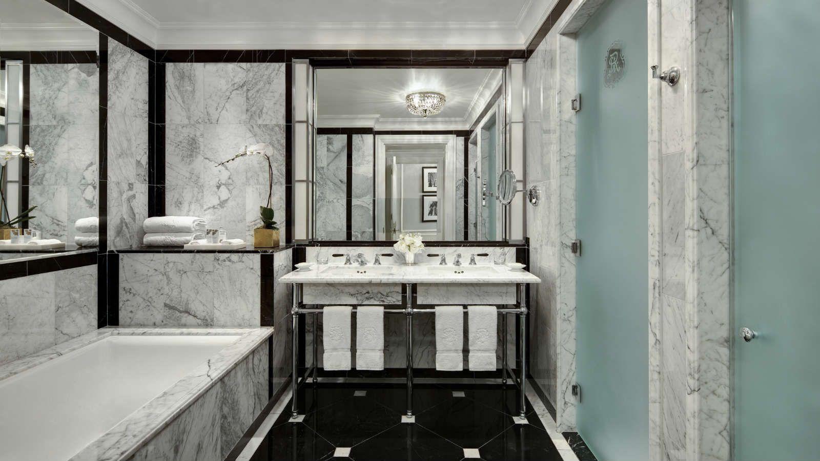 The St Regis New York Guest Room Bathroom Bathroom Nyc Hotels