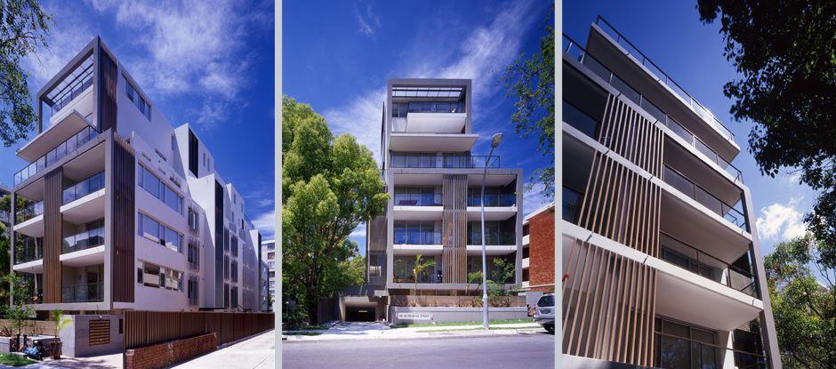 Es un edificio plurifamiliar pero de éste nos gusta que aunque a simple vista se ve sencillo el diseño sobresale por las formas rectas y uniformes.