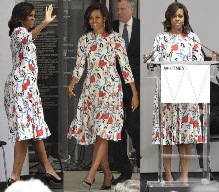 4438d3021810 5 Times Michelle Obama Proved She Has Great Taste in Summer Dresses ...