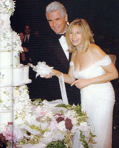 Streisand nad Brolin Wedding