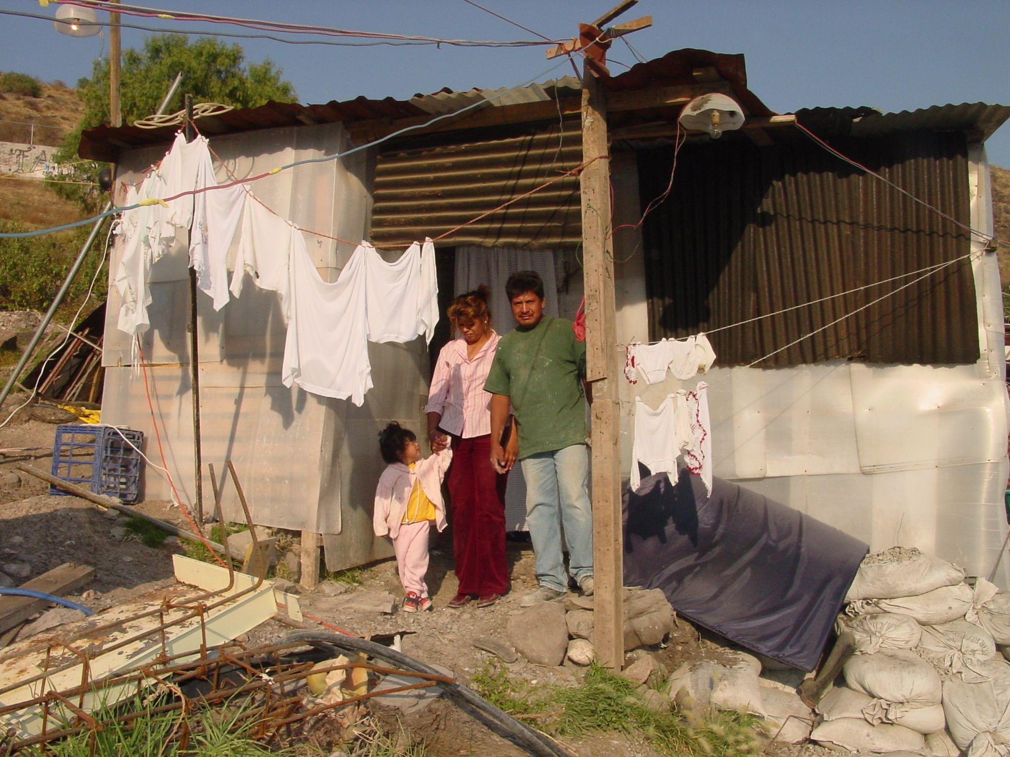 Poor Mexico Houses Cardboard House Mexico Reality Places Ive