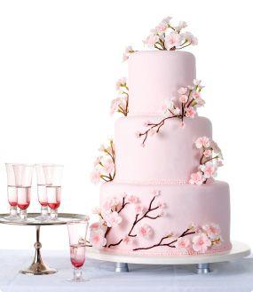 Wedding Cake Mariage Fleur Japon