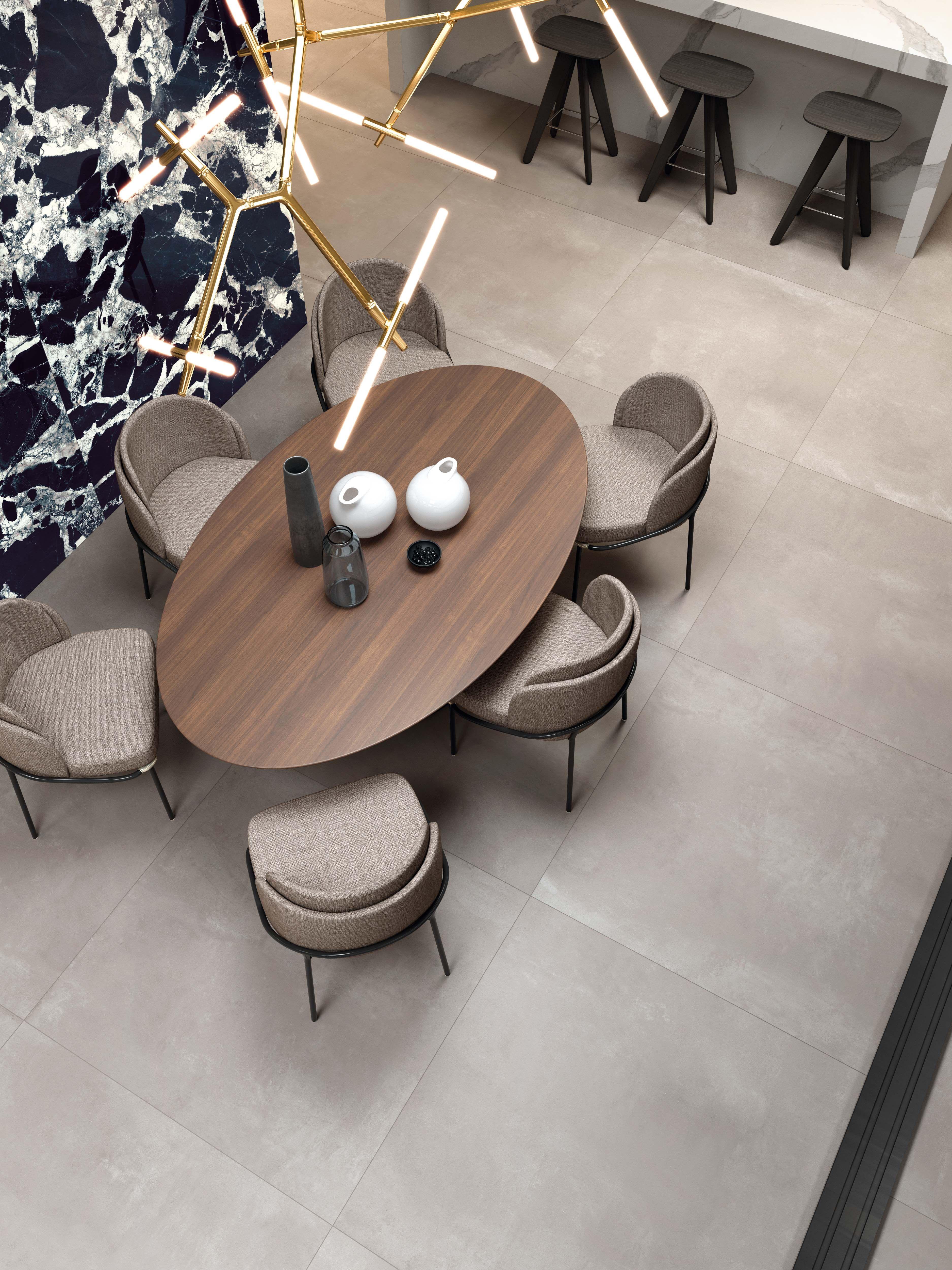 Tiles Design For Living Room Wall: Beige Stone Effect Floor & Wall Tiles For Your Living Room