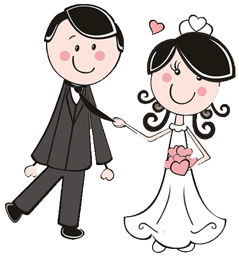 dibujos clipart digi stamps wedding novios boda cute rh pinterest com married clipart just married clipart