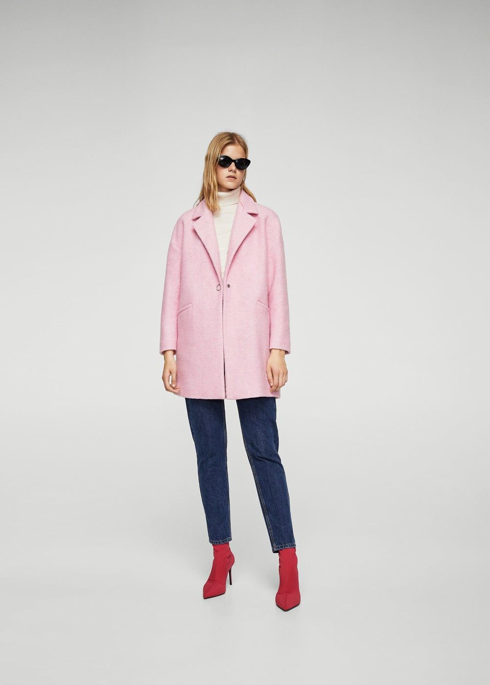 09596c90967f0 Unstructured wool-blend coat - Women in 2019   My Style   Pinterest ...