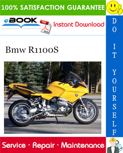 Bmw R1100s Motorcycle Service Repair Manual Repair Manuals Bmw Repair