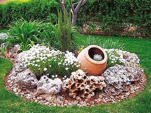Decover decorar jardines peque os jardines pinterest - Pequenos jardines zen ...