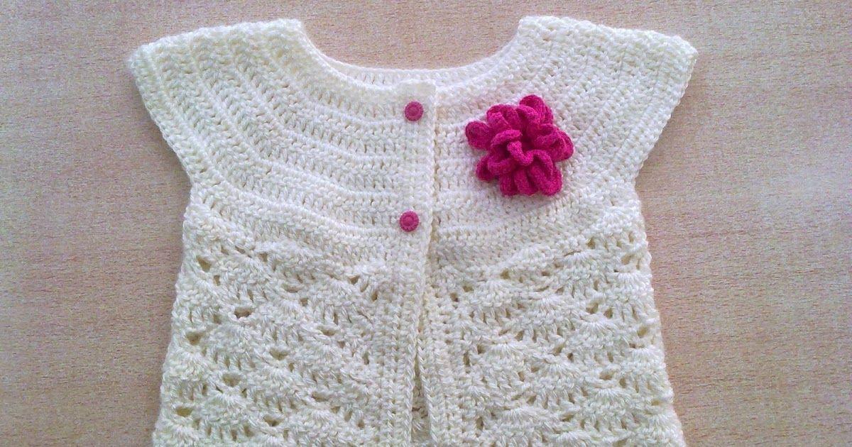 Liliana Milka Crochet: TALLES CHALECO NIÑA | Cosas lindas ...