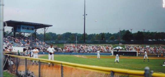 Albany Colonie Yankees At Heritage Park Minor League Baseball Baseball Field Ballparks