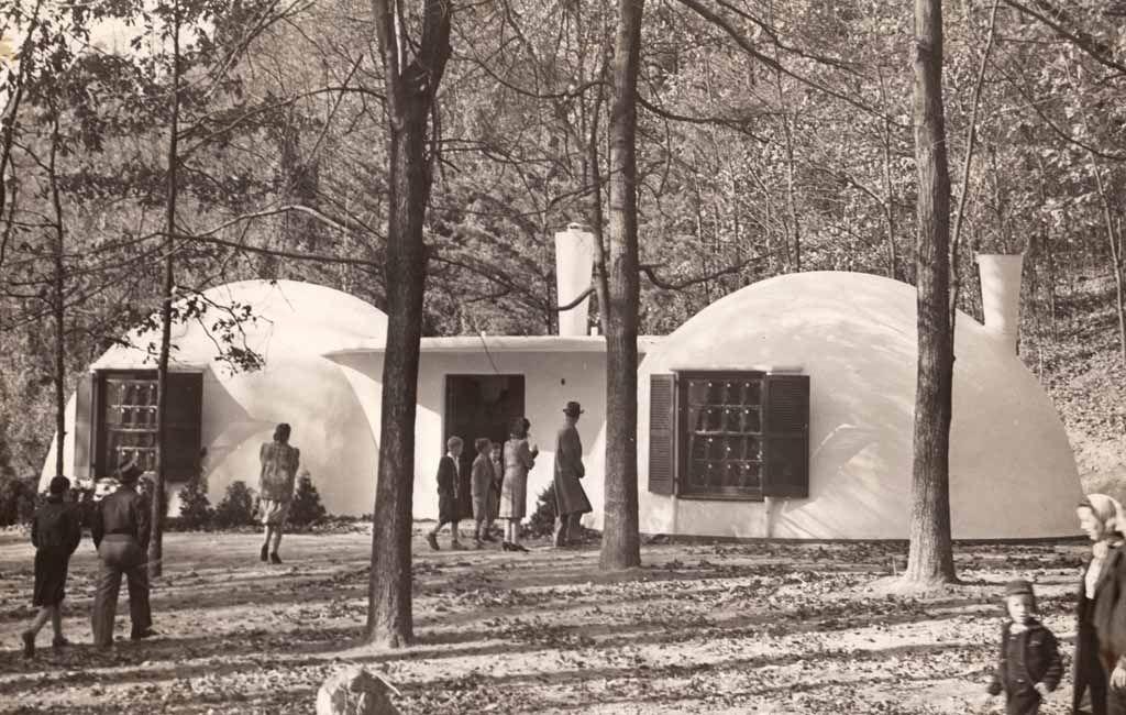 Wallace Neff Bubble Houses 1940s Architektur Pinterest